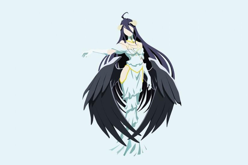 Anime - Overlord Albedo (Overlord) Overlord (Anime) Bakgrund