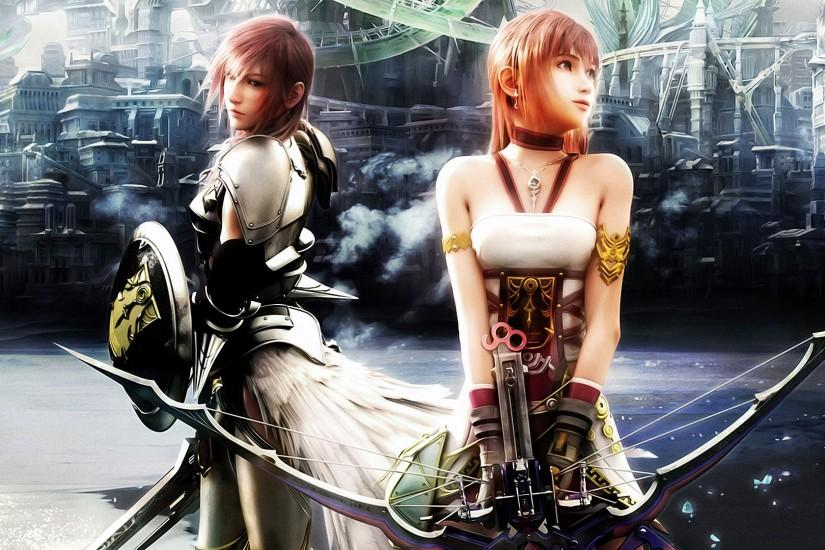 Download Final Fantasy X 13-2 Wallpaper 2