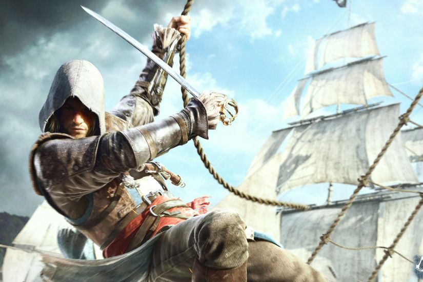 Assassin's Creed IV - This HD Assassin's Creed IV wallpaper is based on  Assassin's Creed IV