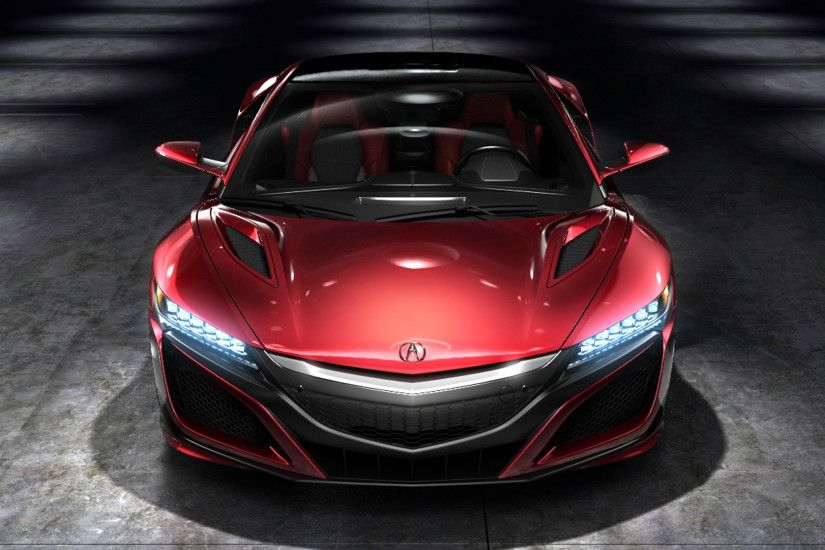 Vehicles - Acura NSX Red Car Wallpaper