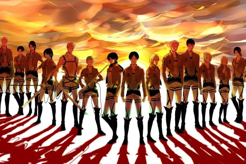 Cool Attack On Titan Image.