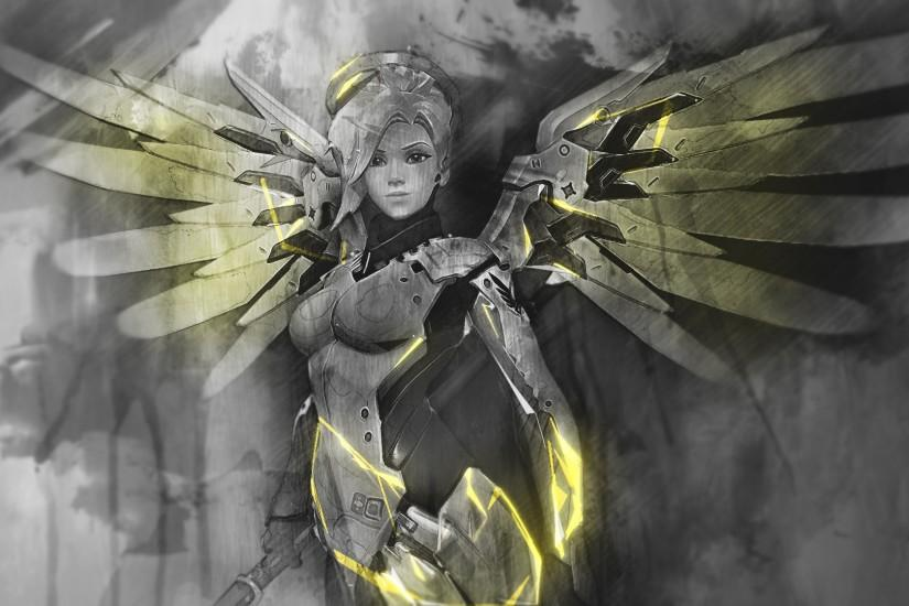 mercy overwatch wallpaper 1920x1080 for iphone 6