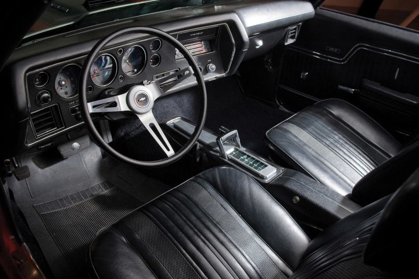 1970 Chevrolet Chevelle S-S 454 PRO LS6 Convertible classic muscle interior  wallpaper | 2048x1536 | 108722 | WallpaperUP