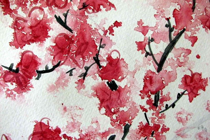 cherry blossom background desktop free