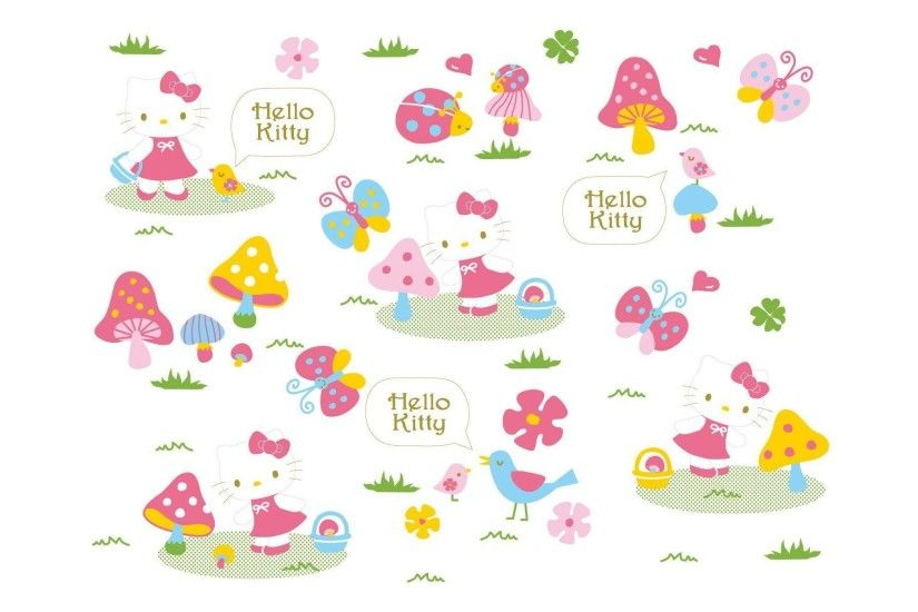 Spring Hello Kitty Wallpapers