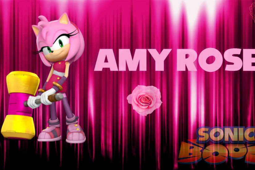 ... Sonic Boom: Amy Rose Wallpaper by Haalyle