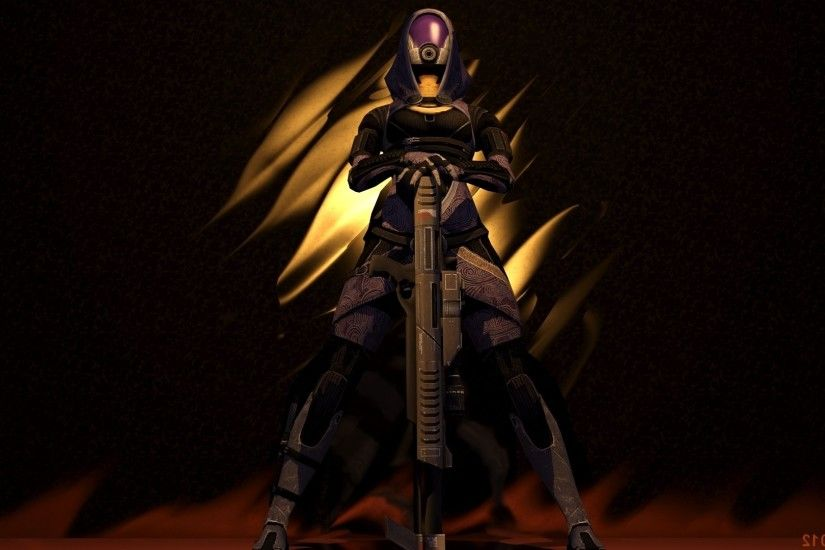Mass Effect Tali Zorah Wallpaper HD