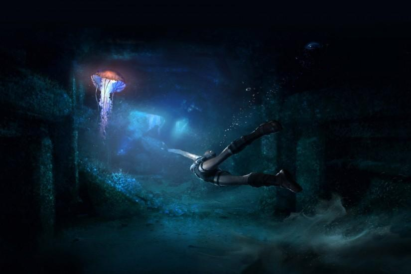 best underwater background 1920x1200 for macbook