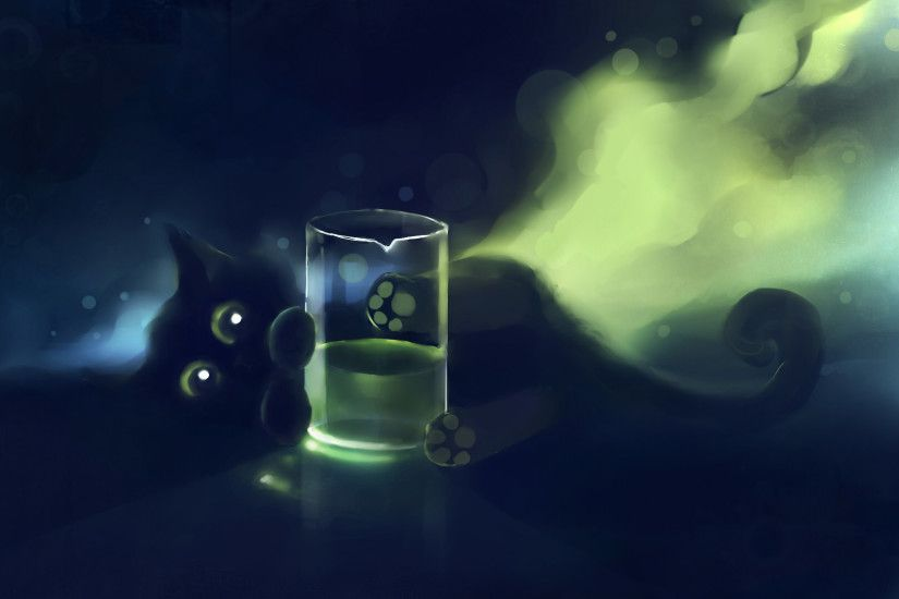 wallpaper cats · Black Cat