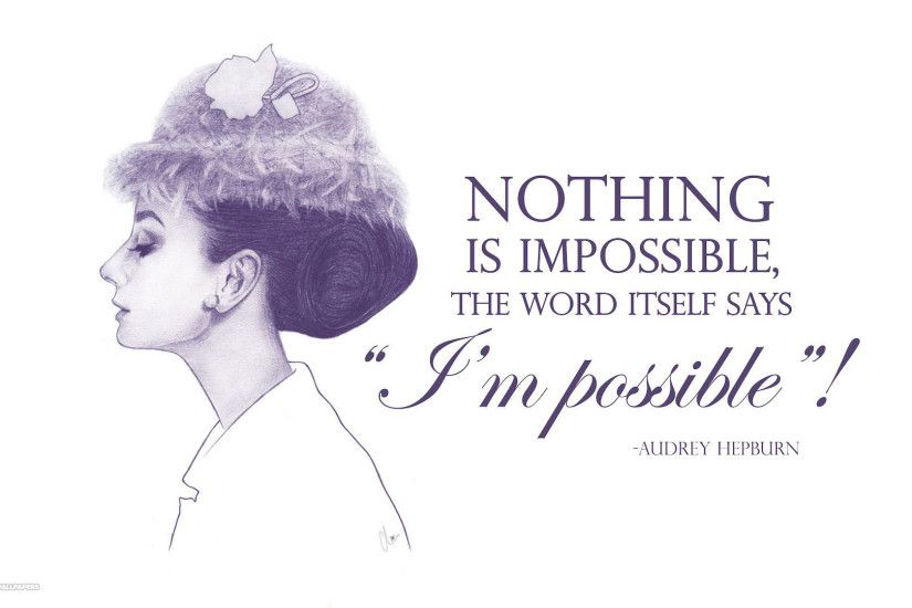 im possible audrey hepburn hd wallpaper