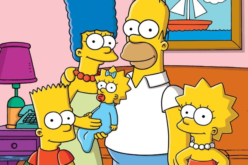 The Simpsons Marge Simpson Bart Simpson Maggie Simpson Homer