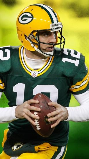 1080x1920 Wallpaper aaron rodgers, green bay packers, green bay, wisconsin,  football