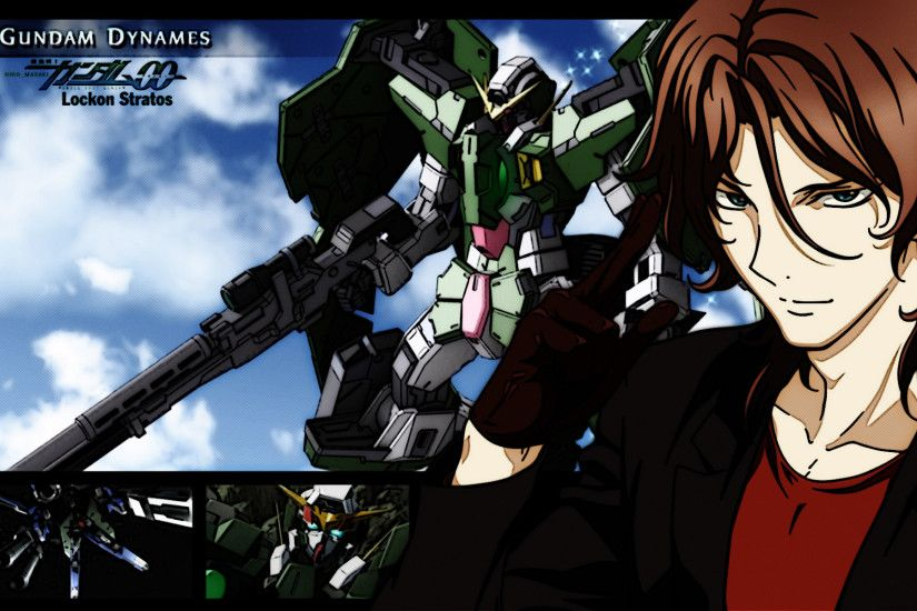 Lockon Stratos/Dynames wallpaper · Gundam 00