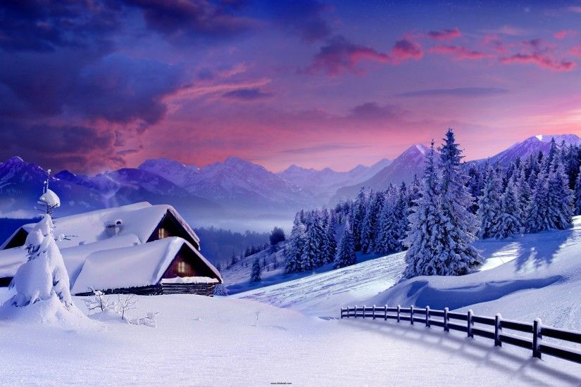 Beautiful Winter HD Wallpapers for desktop free.