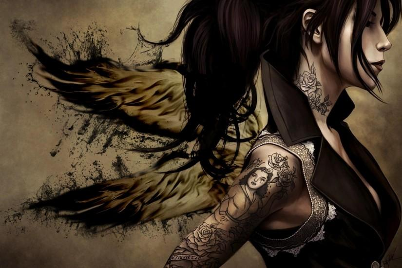Tattoo Wings Wallpapers, Tattoo Wings Myspace Backgrounds, Tattoo .