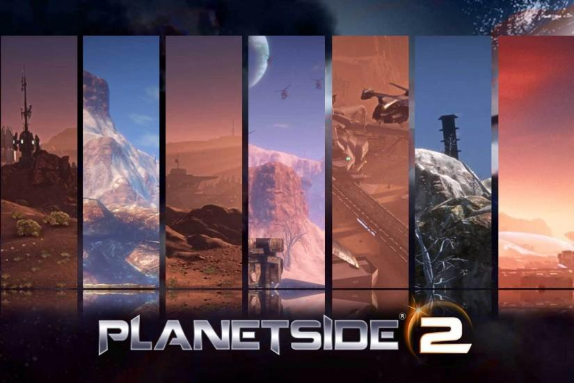 Planetside 2: the world pictures