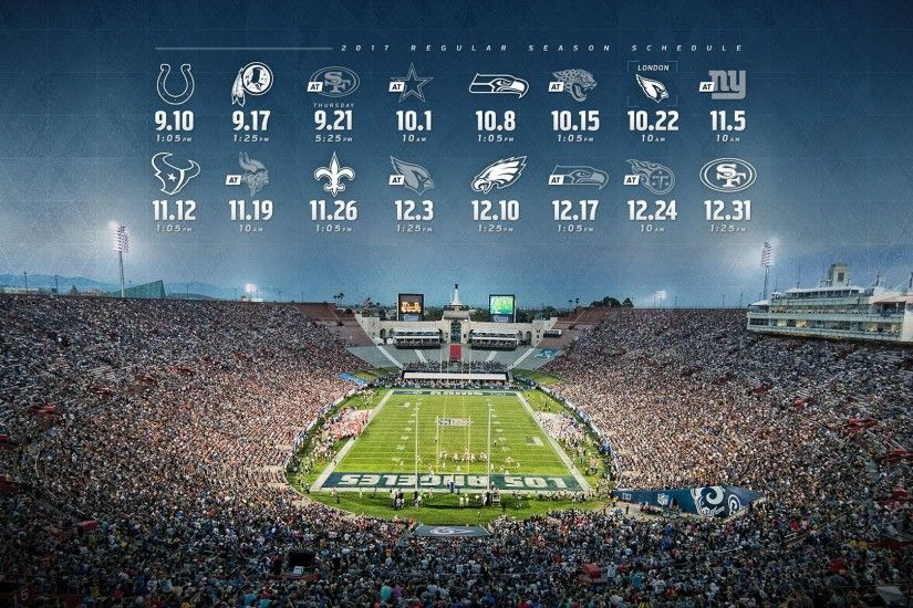 2017 Rams Schedule Wallpapers Wallpapers For Boys 2017