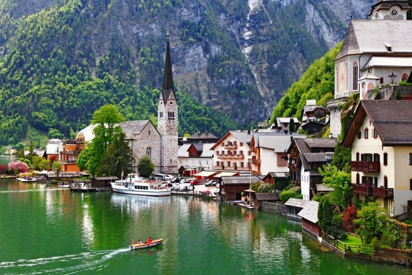 Fall In Hallstatt Austria