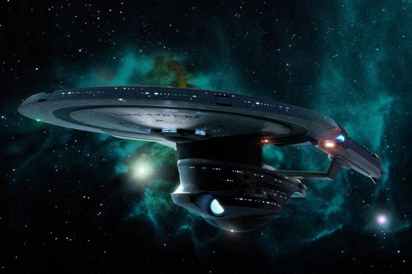Starship Enterprise at warp wallpaper - Movie wallpapers - #25372