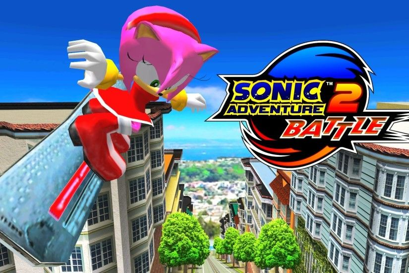 Sonic Adventure 2: Battle - City Escape - Amy [REAL Full HD, Widescreen] -  YouTube