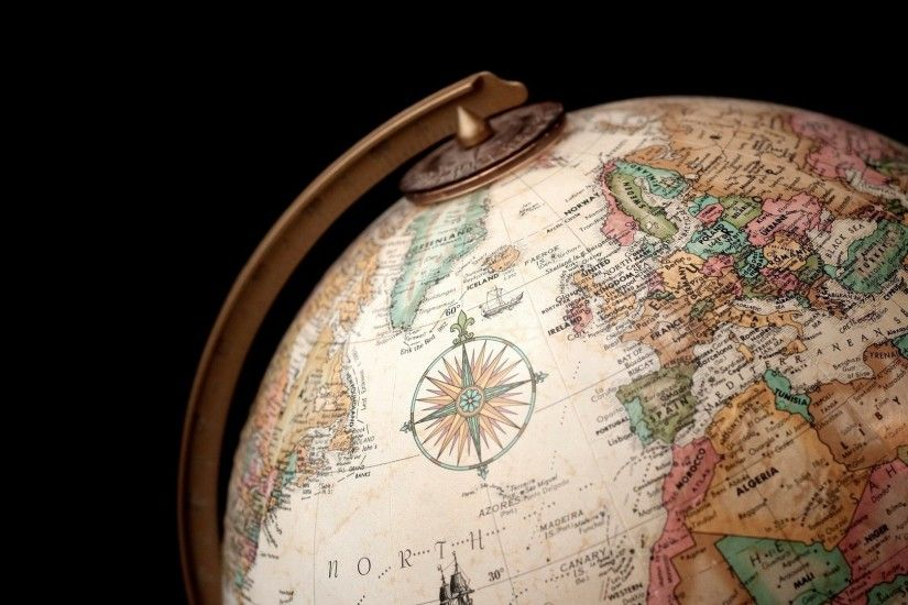 Wallpaper Globe, Country, Ball, Geography