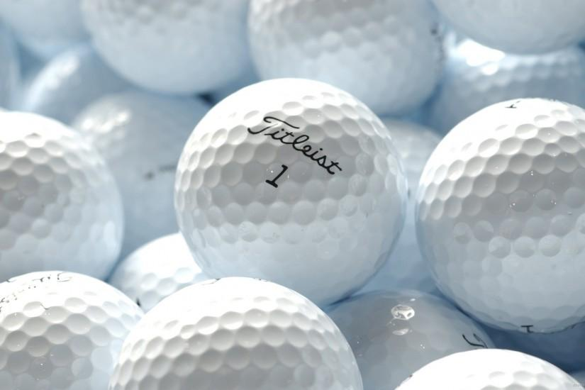 White Titleist Golf Balls HD Desktop Mobile Wallpaper Background .