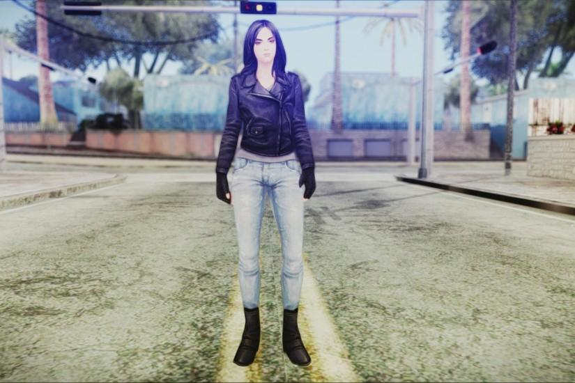 Marvel Future Fight Jessica Jones v2 for GTA San Andreas second screenshot