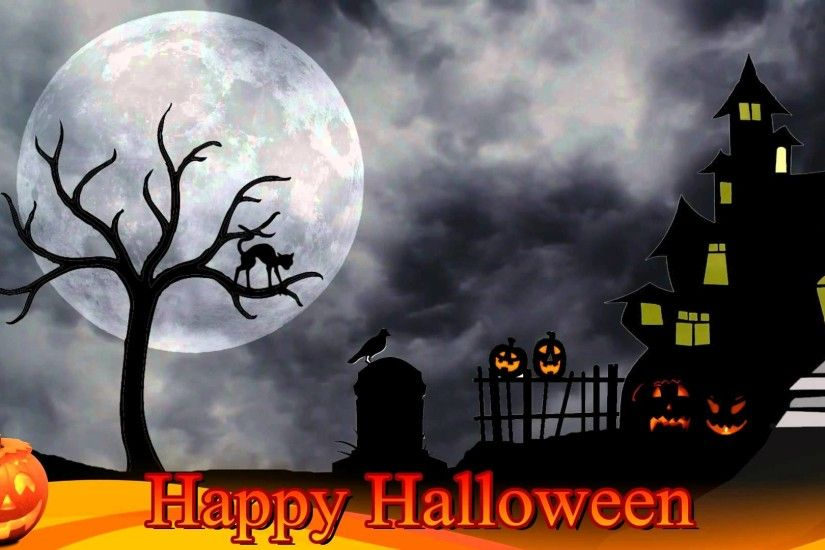 Halloween Background Video - Free motion background video 1080p HD stock  video footage - YouTube