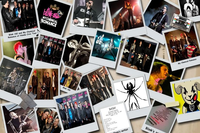 ... My Chemical Romance and Blink 182 wallpaper by Sammie-Shannon