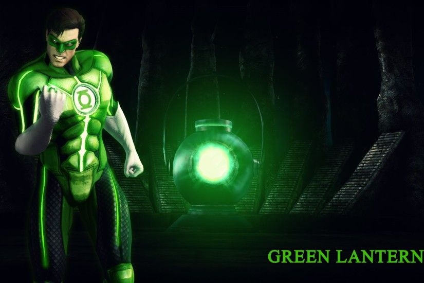 In the 3rd wallpaper is Green Lantern from Injustice - Gods Among Us