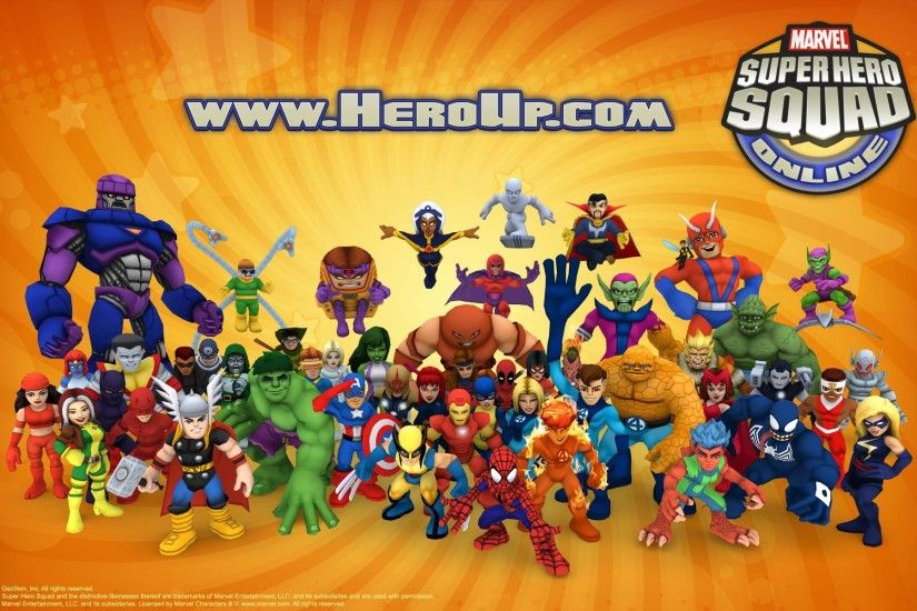 ... Marvel Super Hero Squad Online wallpaper 2 ...