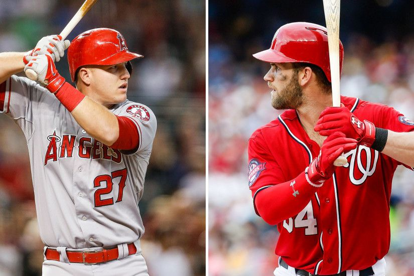 2016 Fantasy Baseball Rankings, OF: Mike Trout, Bryce Harper battle for top  spot | Fantasy | Sporting News