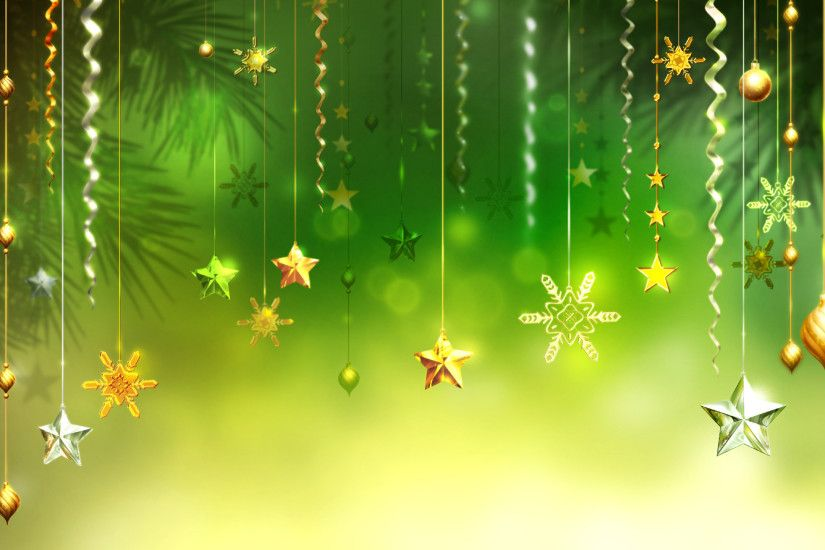 Green Christmas Background (17)