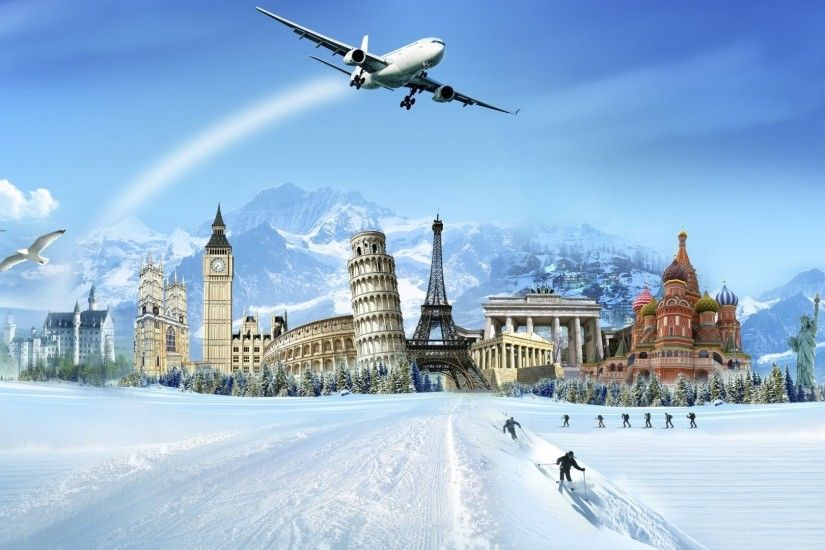 World Wonders to Travel Wallpaper