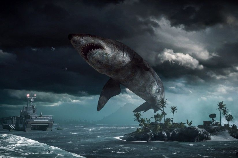 Top Megalodon Shark Battlefield 4 Wallpapers