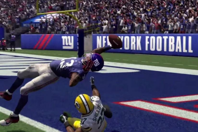 Madden 16 Odell Beckham Catch Re-Done