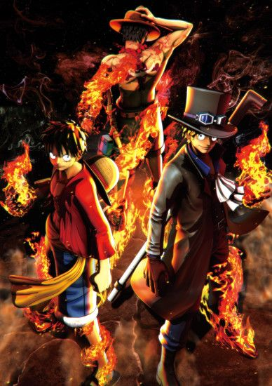 One Piece: Burning Blood - Monkey D. Luffy, Portgas D. Ace,