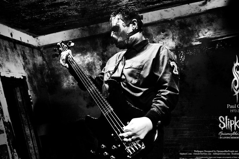 Paul Gray Slipknot Wallpaper