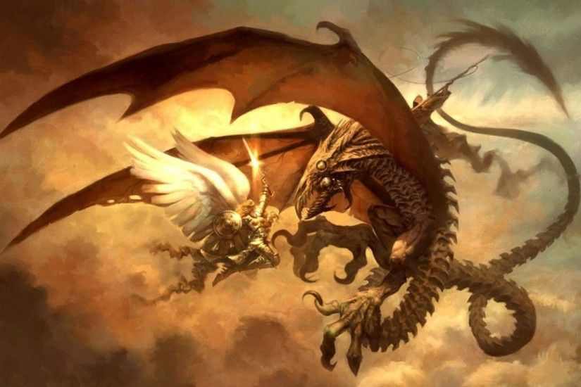 1920x1200 Wallpaper Yellow Fired Dragon