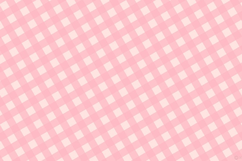 wallpaper checker white pink striped gingham misty rose light pink #ffe4e1  #ffb6c1 30°