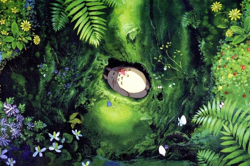 30 My Neighbor Totoro Wallpapers | My Neighbor Totoro Backgrounds