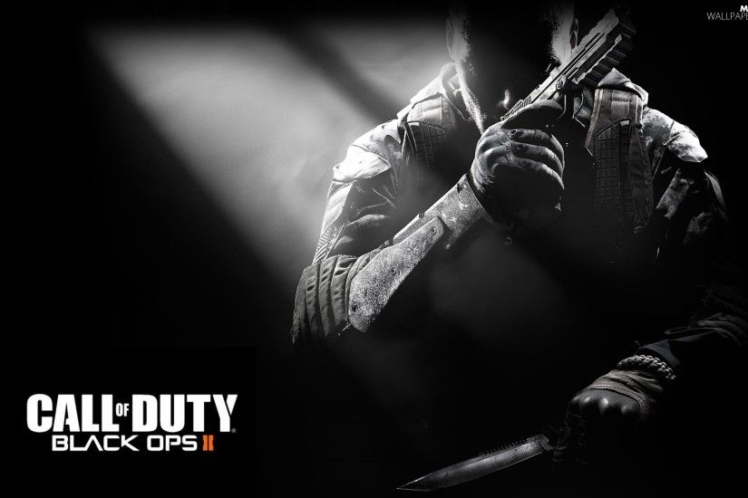 Call of Duty Black Ops, knife, soldier, Gun