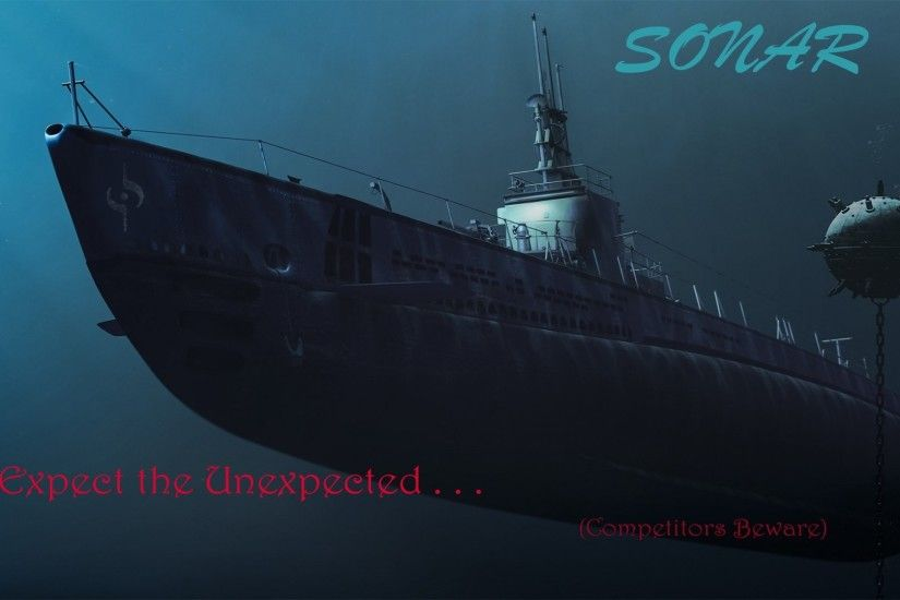 "Generic motif (not version specific), but more to the ""SONAR"" theme. Being  a former submariner, ""There are only two kinds of ships, submarines and  targets."""