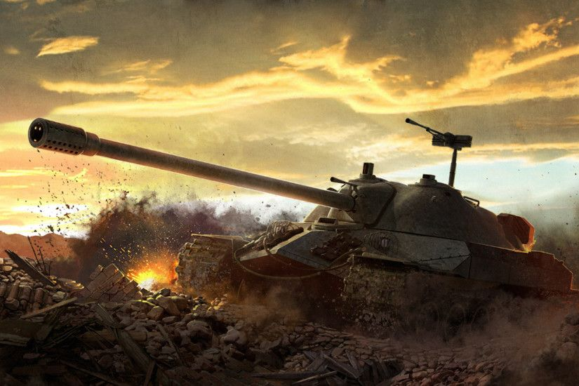 World of Tanks: Soviet heavy tank IS-7 wallpapers and images