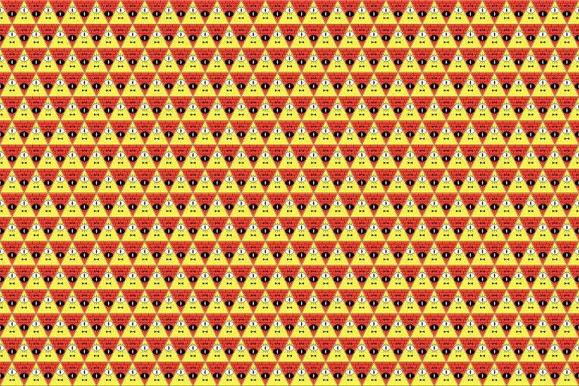Bill Cipher Tesselation