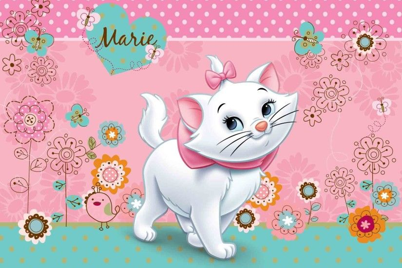 Marie Aristocats Wallpapers - Wallpaper Cave | Beautiful .
