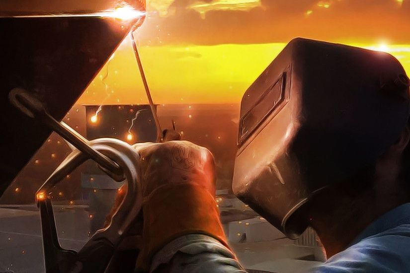 Space, Human, Welder, Sunlight, Welding HD Wallpaper, Other Picture,  Background and Image