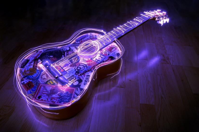 Electric Guitar, Background, Music