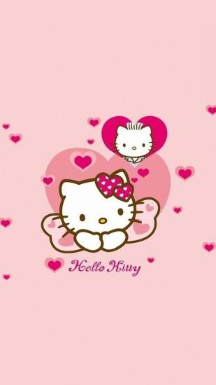 Cute Hello Kitty galaxy s4 s5 Wallpapers HD 1080x1920