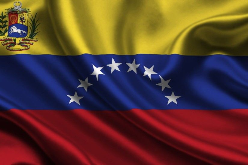Flag of Venezuela — one of the state symbols of the Bolivarian Republic.  Represents the